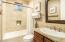 This is the guest bedroom en-suite bath.