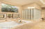 Walk-in shower and soaking tub!