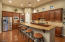 Gorgeous cabinets, granite counters and stainless appliances.