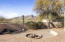 Firepit and seating with view of South Mountain Preserve Park