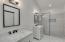separate his & her marble top vanity sinks