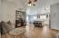 Stylish Ceiling Fan/Light and Vaulted Ceiling!