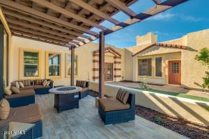 Courtyard Custom Home!