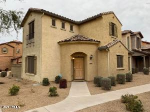 2 bedroom, 2.5 bath home w/ paved driveway & 2 car epoxied garage located in Fireside @ Desert Ridge. Beautiful kitchen w/ granite counter tops, island, canned lighting, & stainless steel appliances--gas range.  Neutral flooring & blinds throughout. Spacious great room floor plan featuring 2 master suites w/ plenty of room in each w/ walk in closets. Master bathroom has updated lighting & a dual sink vanity.  Back patio has plenty of room for seating & entertaining. Walk to Fireside Elementary and Pinnacle High School. Fireside is a master planned community w/ resort pool & heated lap pool, saunas, club house, fitness center, tennis & basketball courts, playground & social activities. Close to Desert Ridge shopping & entertainment. Hurry this one wont last!! Tenant Occupied, Appt required.