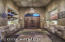 Stunning Entrance To The Courtyard With Exquisite Solid Wood Door And Custom Niches. Very Private And Secure.