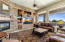 Family Room Situated Off The Kitchen Has Fireplace And You Can Enjoy The Sweeping Mountain Views
