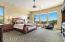 Spacious Master Suite Overlooking The Backyard And The Incredible Mountain Views.