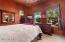 Guest Bedroom. Walk In Closet. Custom Paint. Ceiling Fan.