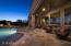 Enjoy The Many Beautiful Nights That Scottsdale Has To Offer From This Lovely Patio.