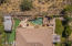 Aerial View Of This Amazing Backyard And Awesome Corner Almost Acre Lot.