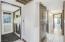 laundry room & hallway