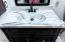 MBR bathroom custom epoxy countertop
