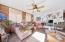 Living area- ground level w kitchen/bathroom/storage room