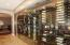 Climate controlled 400 bottle Wine Cellar.