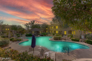 Watch the sunset from the Heated Pool or Spa.