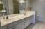 Primary Bathroom with Double Sinks