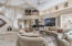 Open concept in Living Room with lots of architectural details.