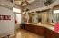 Large shower, separate vanity areas