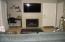 Great Room with Flatscreen TV & Desk Area