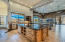Kitchen island to the family room