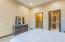 Guest bath and closet doors