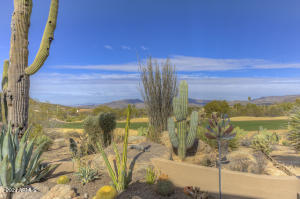 North-South exposure with amazing golf course and mountain views!