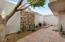 Patio w/ desert landscaping