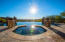 Negative Edge Pool & Spa overlooking the mountains & city!