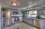 Kitchen custom cabinets, new appliances