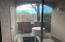 View out the master sliding door as-is