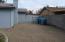 Huge side yard with RV gate.