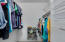 Two Walk-In closets in the Master Bathroom