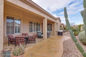 Perfect space covered and uncovered to enjoy your morning coffee or those beautiful AZ evenings.