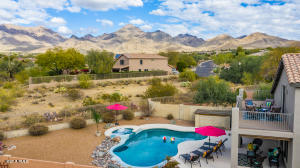MASSIVE BACKYARD! SO PRIVATE! NO HOMES BEHIND-ONLY DESERT OPEN LAND! MOUNTAIN VIEWS EVERYWHERE!