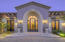 Grand From Entry w/Cantera & Iron Door