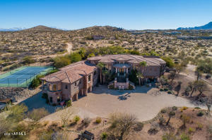 Private estate home on 3.85 acres in gated community in North Scottsdale