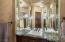 Second master bath features large shower and large walk-in closet