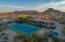 Private tennis court--a rarity in North Scottsdale