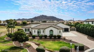 Single Story, Gated Cul-De-Sac home with San Tan Mountain Views and Space Galore!