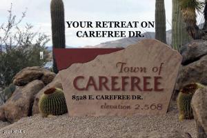 8528 E Carefree Drive, Carefree, AZ 85377