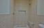 Master shower/wet room