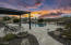 Ramada offers shade while enjoying the pool.