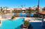 Community pool wit lake view