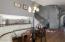Upgraded light fixture in nook
