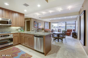 Granite counter tops and shaker cabinets