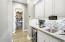 Butlers pantry, RO, wine frig