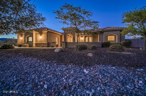 Well landscaped, low maintenance front and back yards