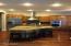 Four bar stool area for quick Snacks/ Meals/ Prep