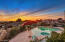 Enjoy those views and sunsets from the heated pool.