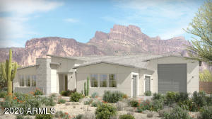 Plan 5526 shown with optional RV garage; this home is being built with the optional 4-car garage.